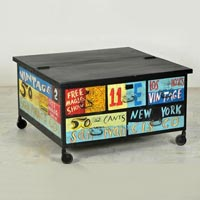 Painted Coffee Tables & Entertainment Centers