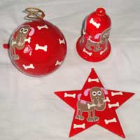 Christmas Tree Hanging Stars
