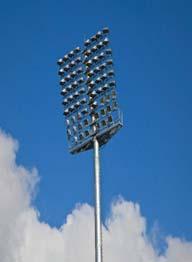 High Mast Lighting Poles 02