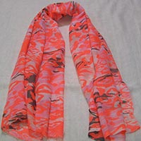 Fashionable Neon Printed Scarves