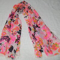 New Neon Printed Scarves