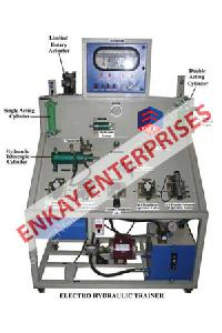 PLC Based Electro Hydraulic Trainer