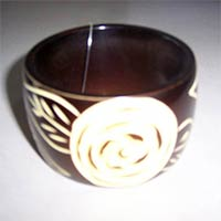 Horn And Bone Bangle 02