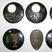 Horn and Bone Beads