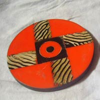 Horn and Bone Coaster 06