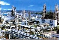 crude oil refinery plant