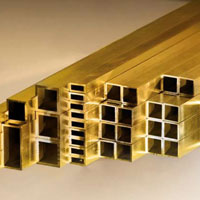 Rectangular Brass Tubes