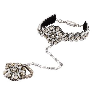 Fashion Bracelet With Ring 02