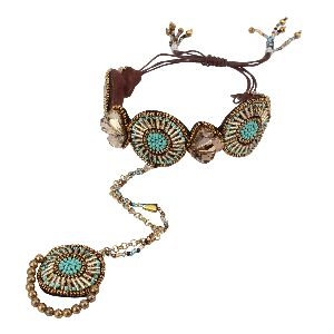 Fashion Bracelet With Ring 04