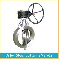 ALLOY STEEL BUTTERFLY VALVES