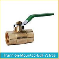 TRUNION MOUNTED BALL VALVES