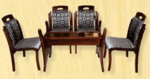 Bentwood Dining Table Set 03