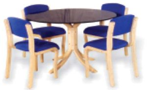 Bentwood Dining Table Set 07