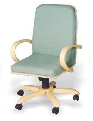 FOCX-601 Bentwood Revolving Chair