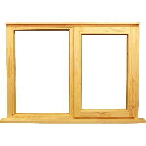 Wooden Window Frame 01