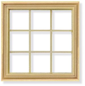 Wooden Window Frame 02
