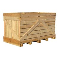 2,000 kg wooden crate