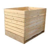 Plywood Wooden Crates 01
