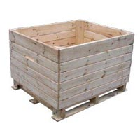 Wooden Crate Skid