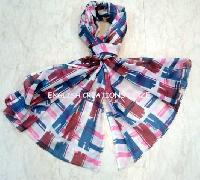 Cotton Print Stoles (EC-7237)