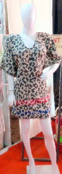 Animal Jacquard Kimono (EC-5211)