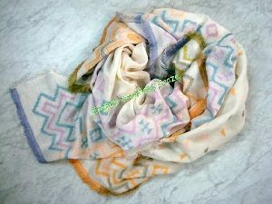 Cotton Jacquard Scarves (EC-6069)
