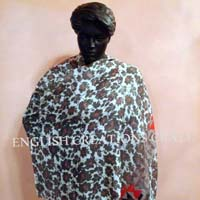 Cotton Silk Printed Shawls
