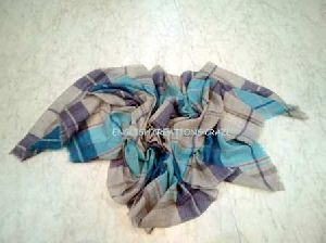 Merino Wool Herringbone Weave Scarf (EC-6725-1)