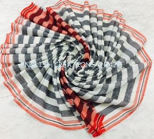 Merino Wool Melange Scarf   EC-6753 (2)