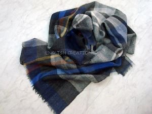 Merino Wool Woven Scarves EC-5134-A