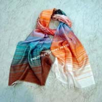 Silk Modal Stripes Scarves