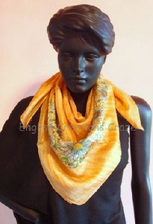 Silk Square Scarves - EC-2169 DM