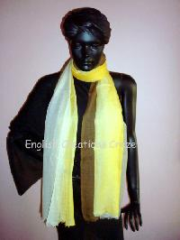Silk Wool Ombre Dyed Scarf (EC-2243)