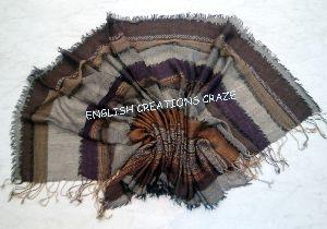 Wool  Acrylic  Scarves EC-6547 A