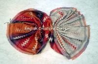 Wool Cotton Modal Woven Scarves (EC-6445 B)