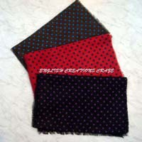 Wool Dot Printed Scarves