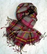 Wool Mélange Heavy Quality Scarves (EC-4510)