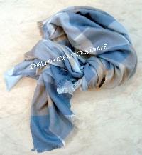 Wool Viscose Jacquard Heavy Raising Scarves (EC-6060-A)