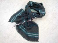 Yak Wool Check and Stripes Scarves (EC-5168)
