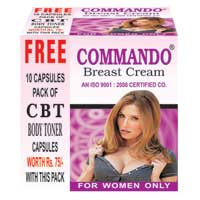Commando Breast Cream