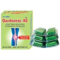Dardorest-40 Pain Relief Capsules