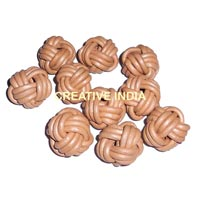 Leather Braided Bead (MCR37)
