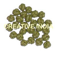 Leather Braided Bead (MCR53)