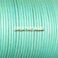 Regular Colour Wax Cotton Cord (128 Pacific)