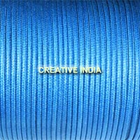 Regular   Colour Wax Cotton Cord (Royal Blue 127)