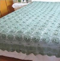 Crochet Bed Sheet 01