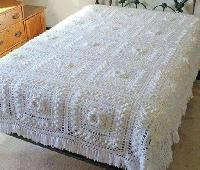 Crochet Bed Sheet 04