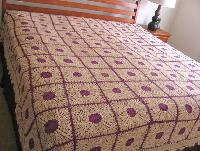 Crochet Bed Sheet 08
