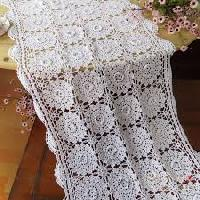 Crochet Table Runner 01