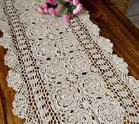 Crochet Table Runner 06